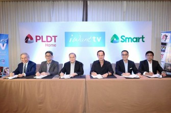 ABS-CBN, PLDT seal partnership for iWant TV