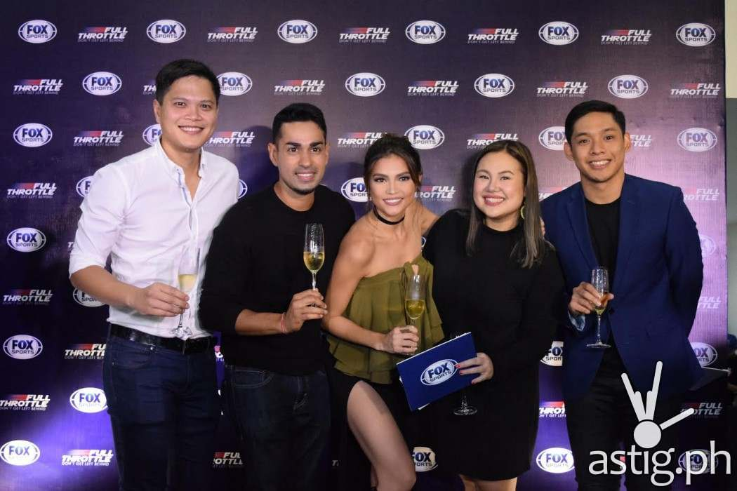 Rhian Ramos & Sam YG are hosting Full Throttle on FOX Sports