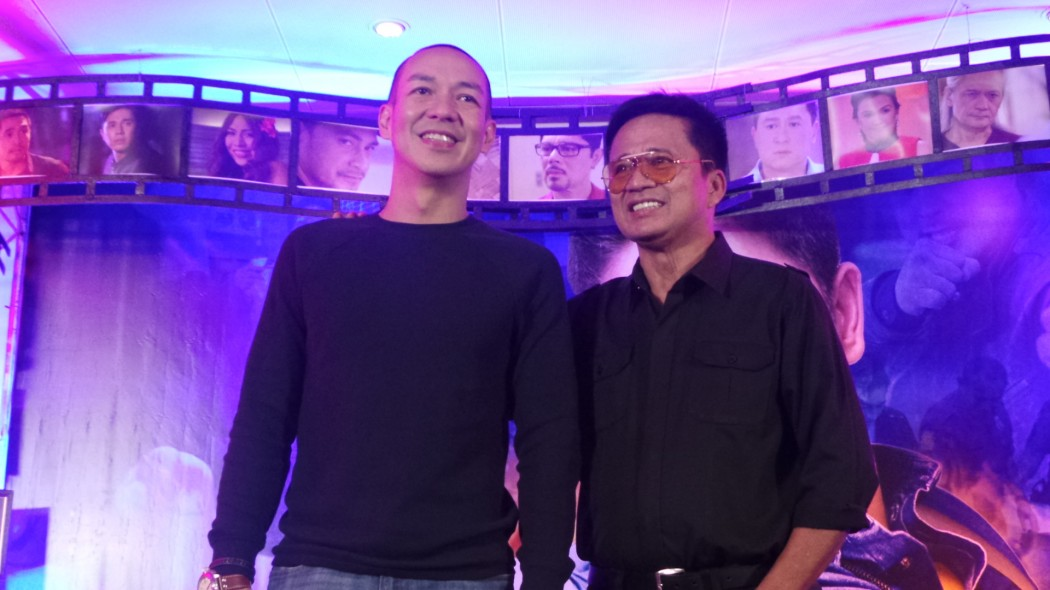 Directors Avel Sunpongco and Toto Natividad