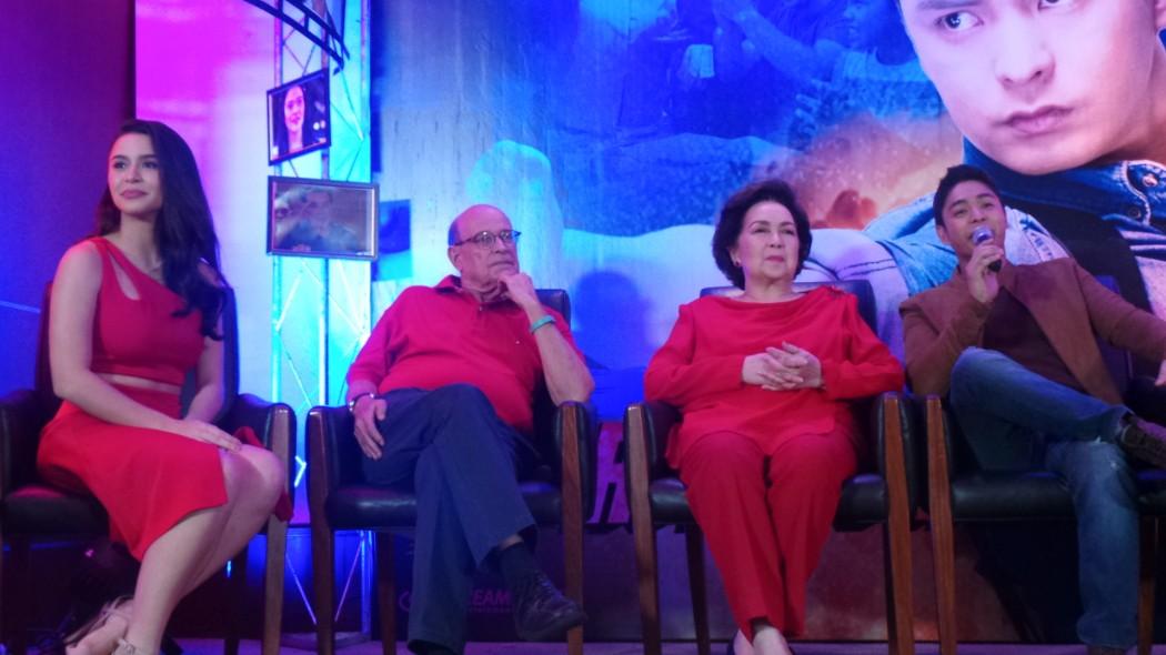 (L-R) Yassi Pressman, Jaime Fabregas, Susan Roces and Coco Martin