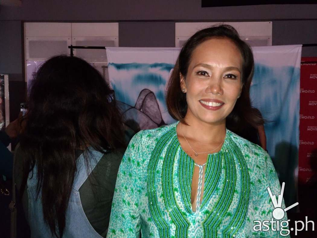 Ana Abad-Santos at the VIP pre-screening of Apocalypse Child