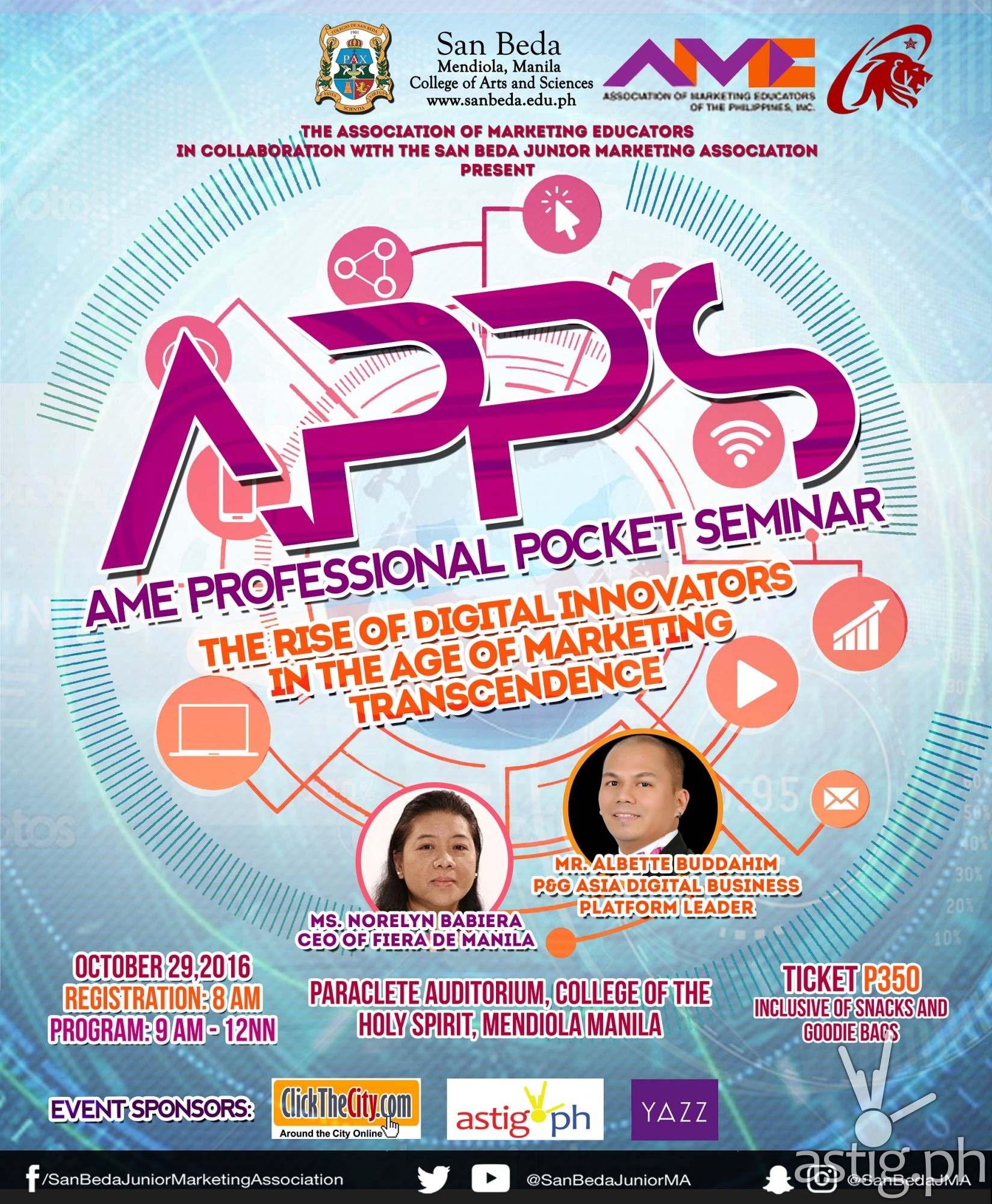 Apps san beda poster