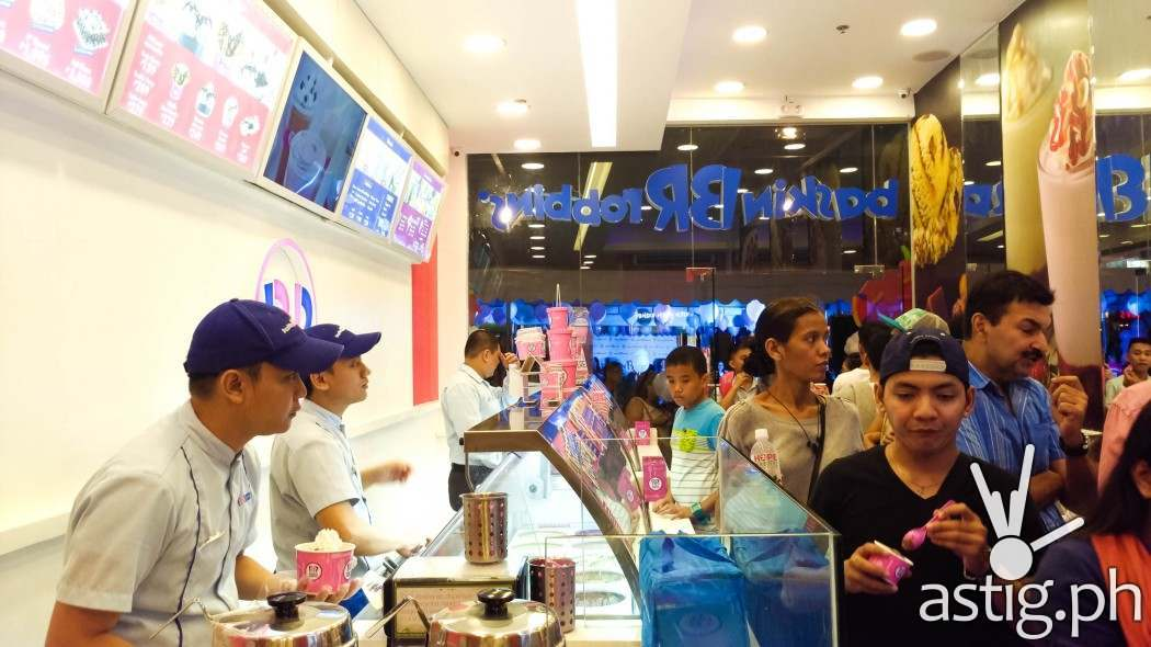 Grand opening of Baskin-Robbins Bonifacio High Street BGC Taguig