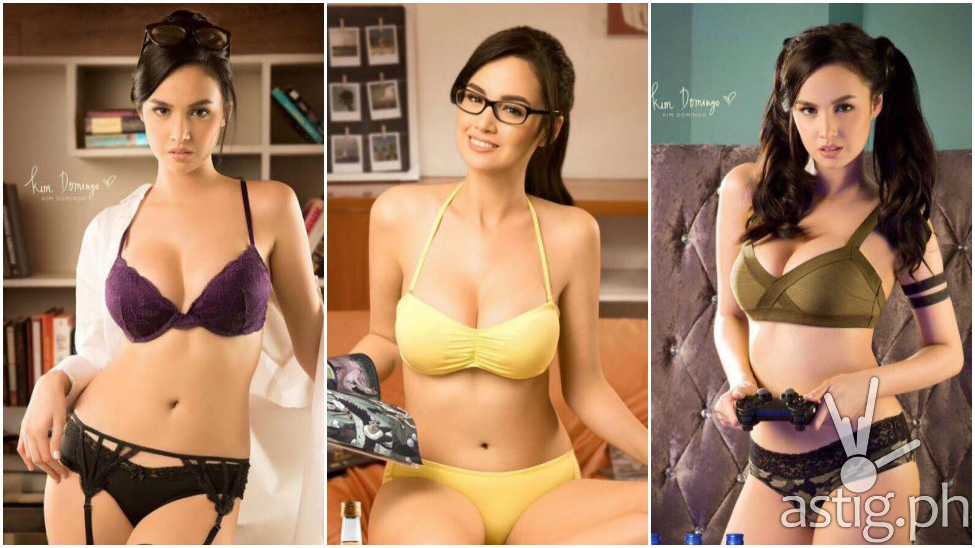 Kim Domingo Ginebra calendar girl 2017