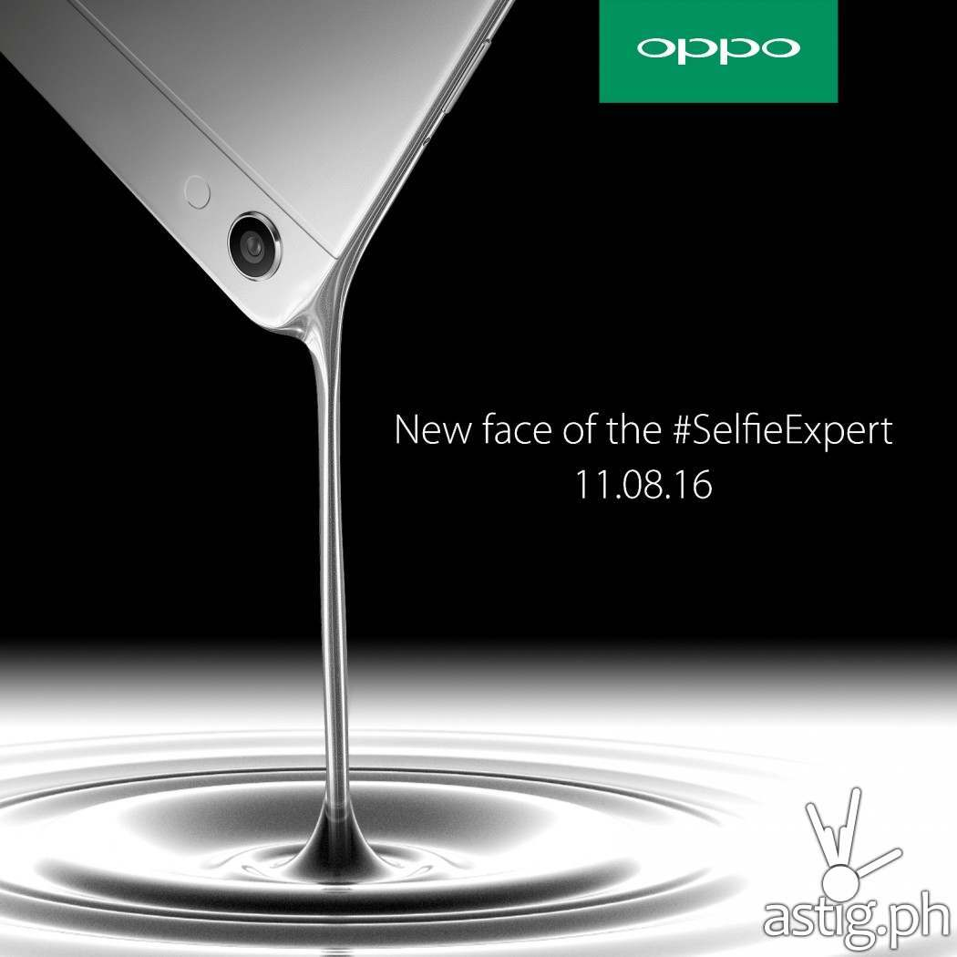 OPPO teaser hinting at a new ambassador to be revealed on November 8
