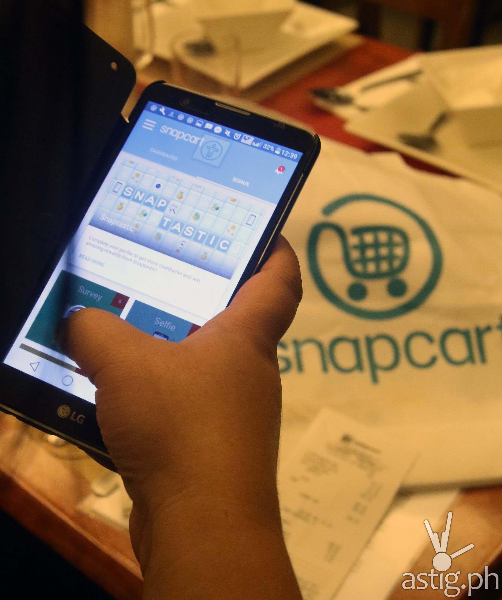 Get cash and rewards with Snapcart | ASTIG PH