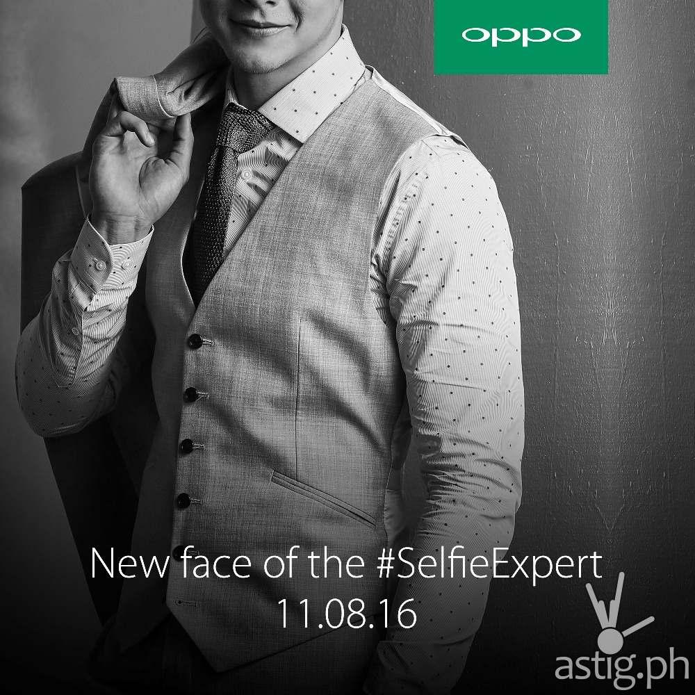 OPPO #SelfieExpert teaser poster
