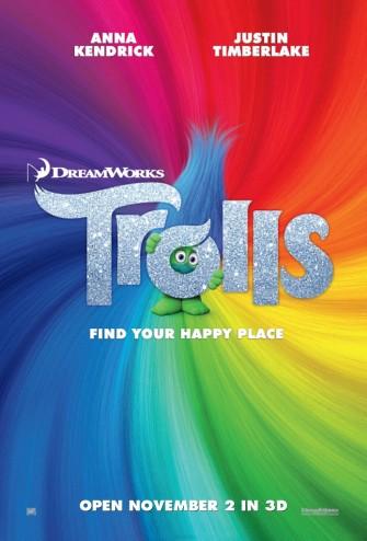 Trolls movie block screening Nov 3 @ RWM [event]