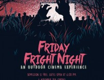 Fiday Fright Night: outdoor cinema experience Nov 4 @ UP Diliman [event]