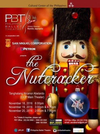 The Nutcraker by Philippine Ballet Theater