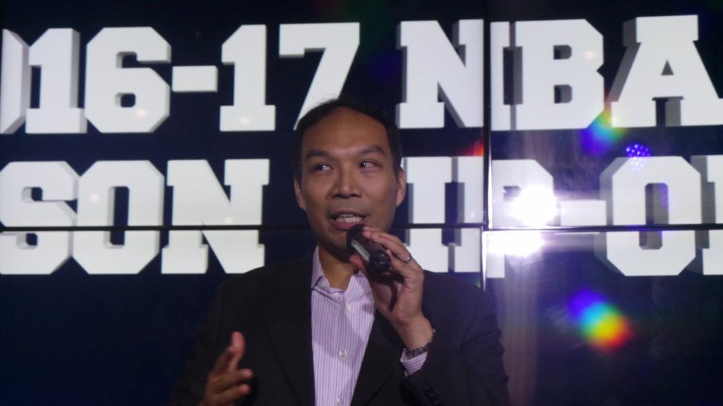 Carlo Singson, Managing Director of NBA Philippines