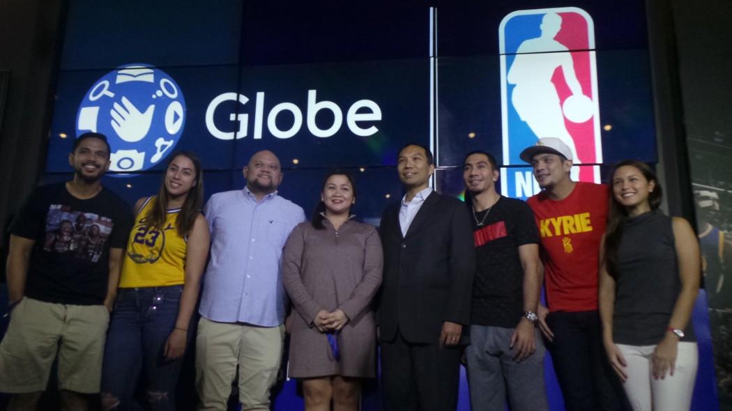 Globe x NBA executives with Ambassadors