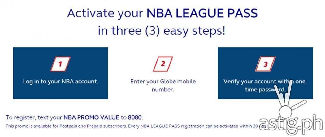 NBA League Pass Easy Steps