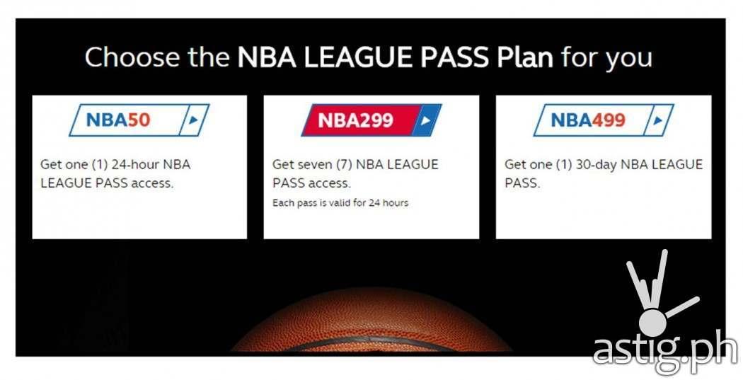 NBA League Pass Plan