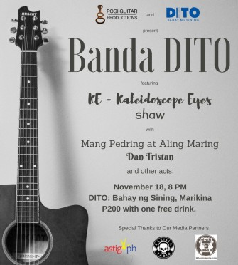 Kaleidscope Eyes, Shaw headline 'Banda DITO' on Nov 18 @ Marikina [event]