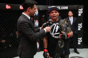 Why did MMA Champ Bibiano Fernandes call Manila