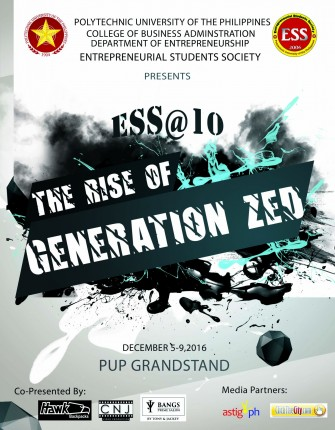 ESS@10: The Rise of Generation Zed, Entrepreneurship Week 2016 [event]