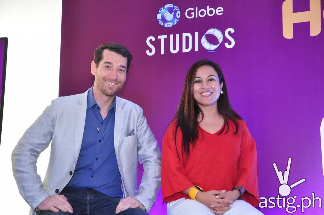 Globe's Dan Horan and Jil Bausa Go