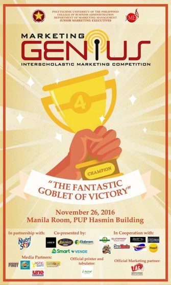 Marketing Genius 2016: Fantastic Goblet of Victory [event]
