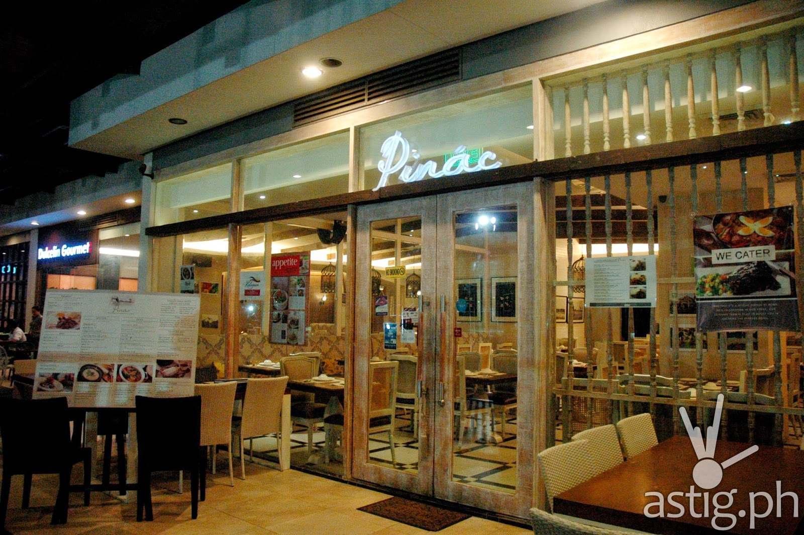 Pinac - Pinac restaurant UP Town Center