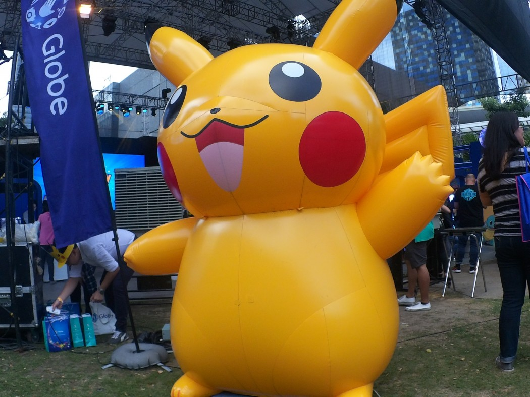 Pikachu inflatable