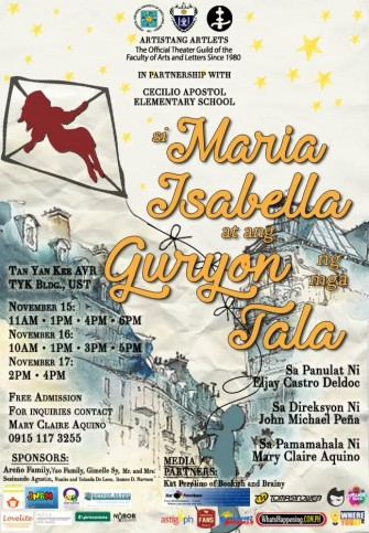 Si Maria Isabella at ang Guryon ng mga Tala by UST Artistang Artlets
