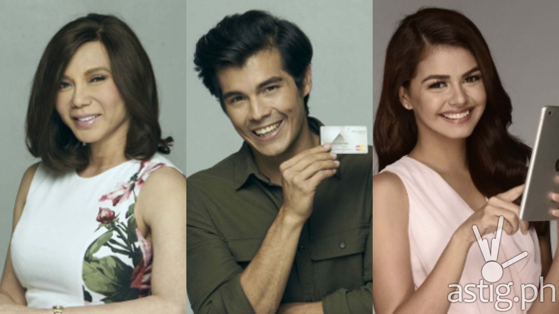 Vicki Belo, Erwan Heussaff, Janine Gutierrez for Security Bank