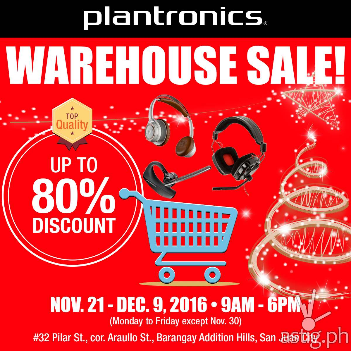 plantronics warehouse sale