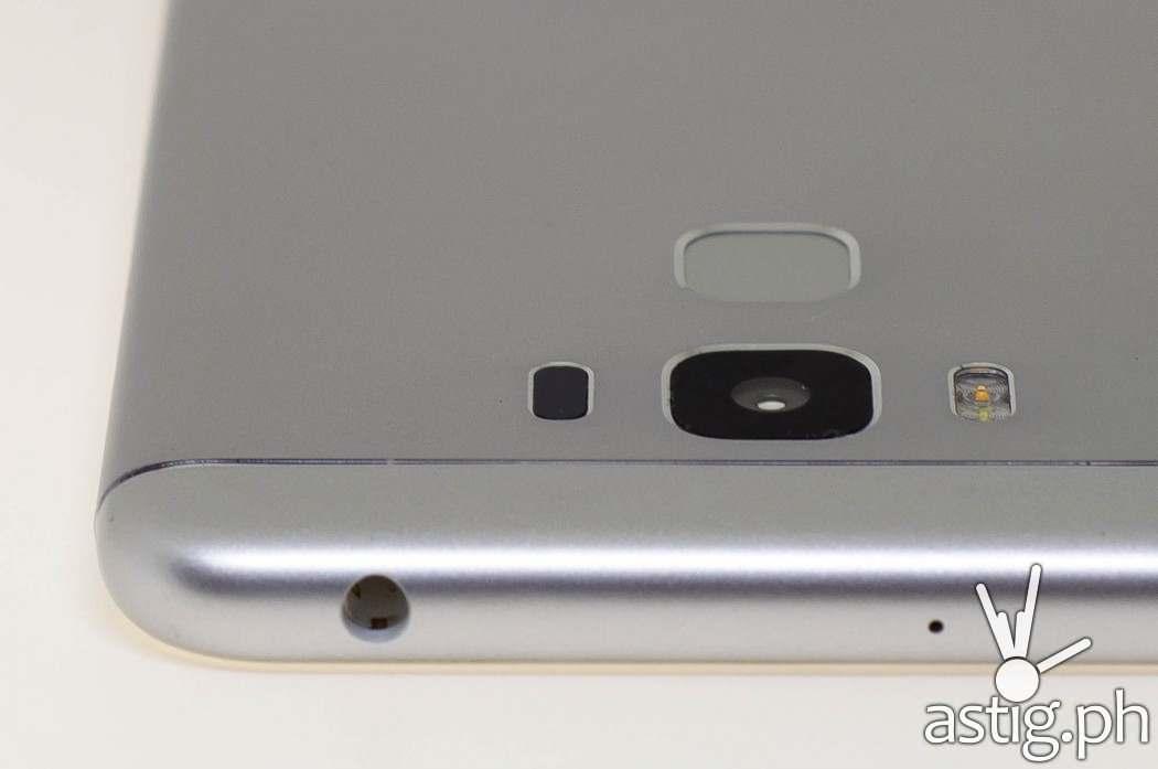 ASUS Zenfone 3 Max 5.5 camera and 3.5mm audio port
