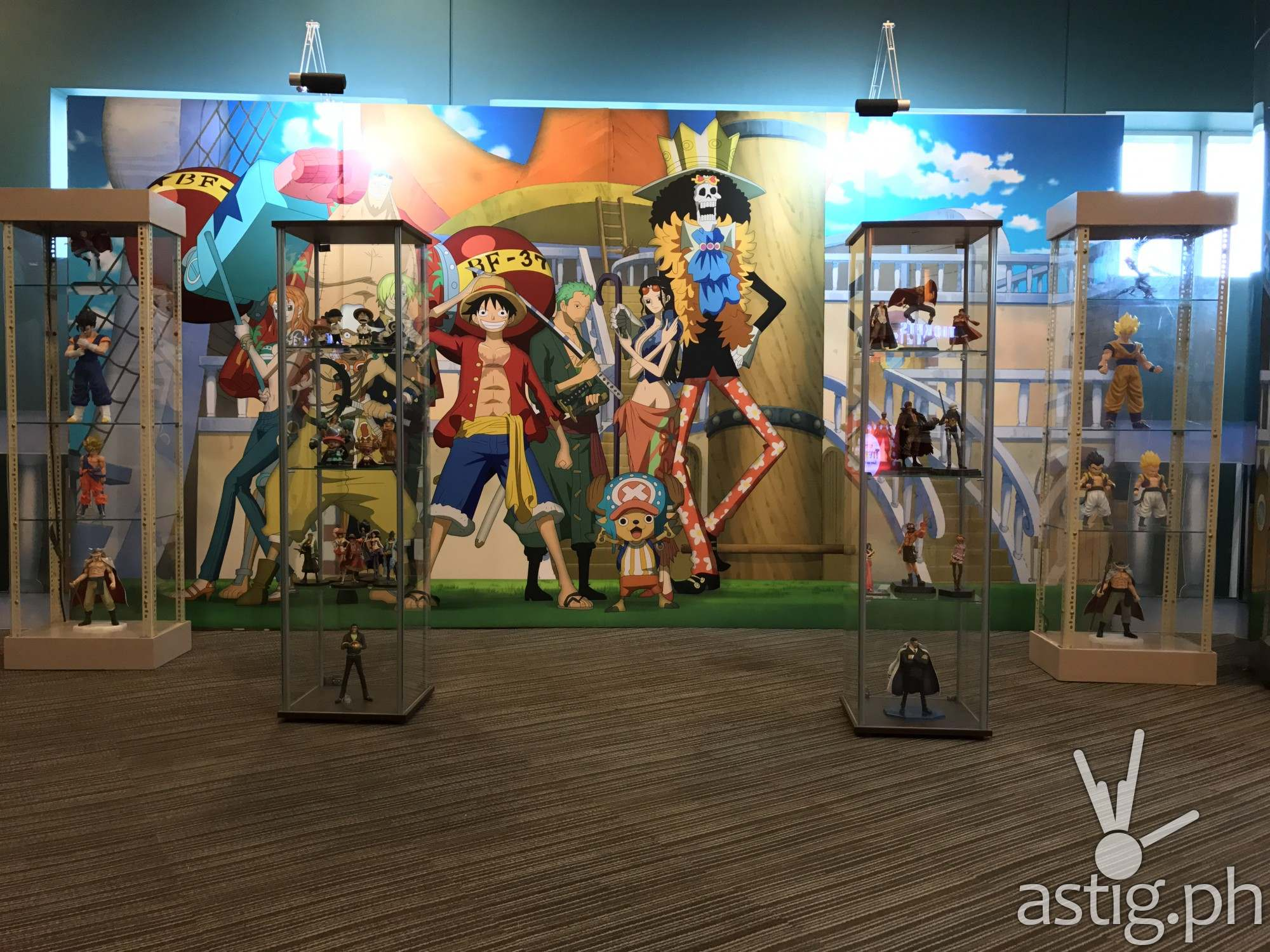 One Piece display at Animahenasyon 10