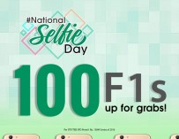 National Selfie Day: 100 units of Oppo F1S to be given away this December