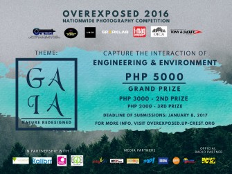 Overxposed 2016 GAIA photography competition [event]