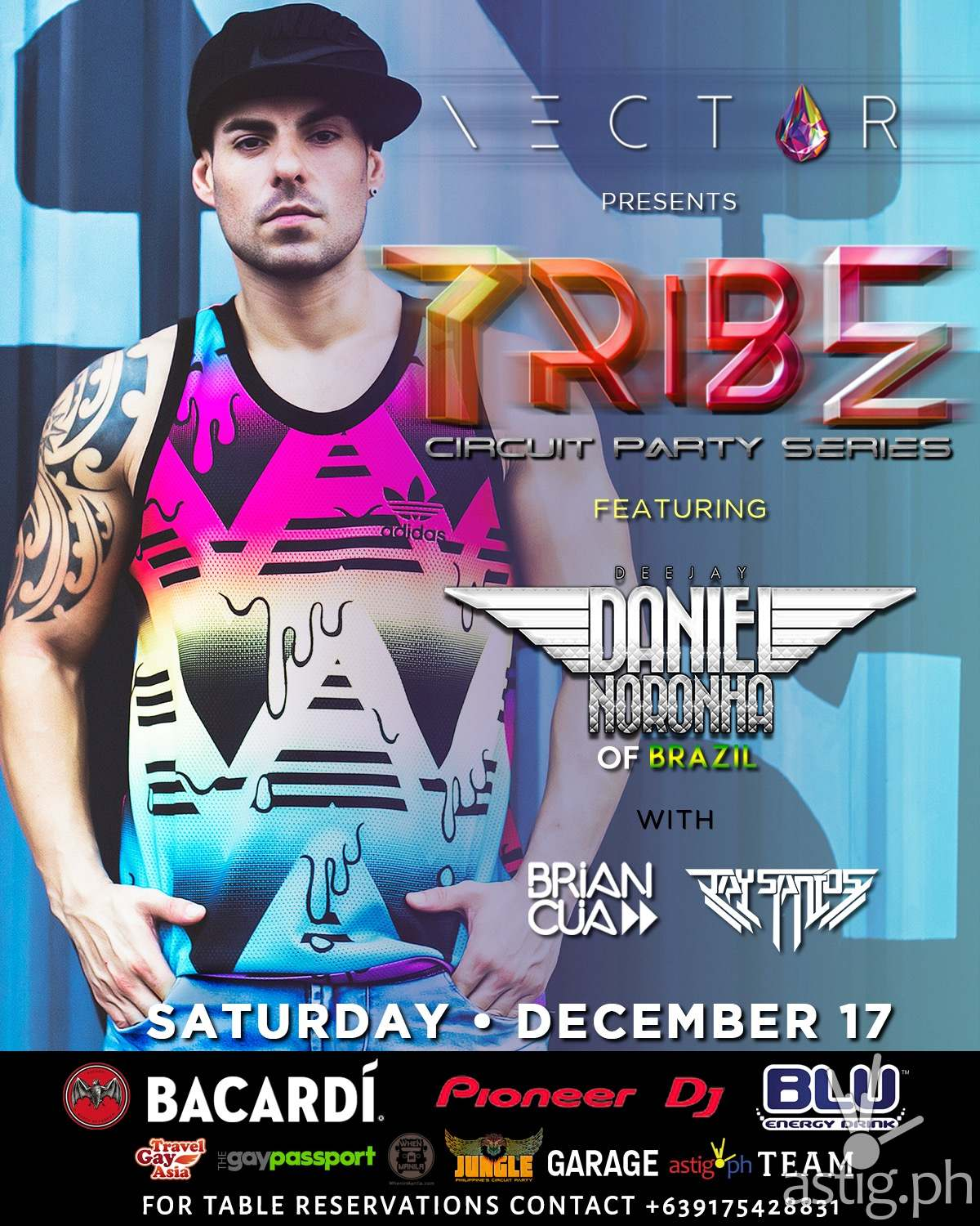 Tribe Circuit Party at Nectar Nightclub