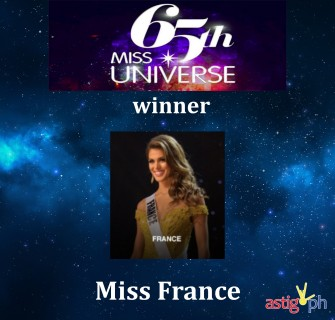 Pia Wurtzbach crowns Miss France as new Miss Universe