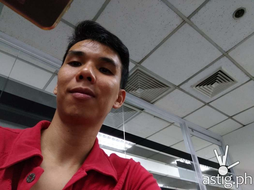 ASUS Zenfone 3 Zoom sample selfie photo (RAW unedited)