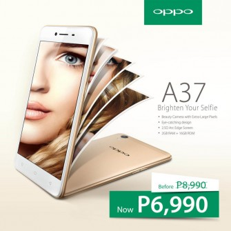 OPPO A37 price drop: P6,990