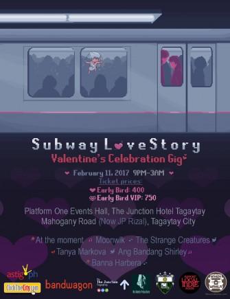 Subway Love Story Feb 11 @ Tagaytay [event]