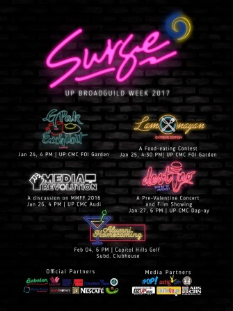 Surge 2017 by UP Broadcasters' Guild [event]