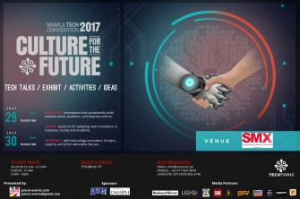 TECHTonic 2017 Manila Convention: discover innovation [event]