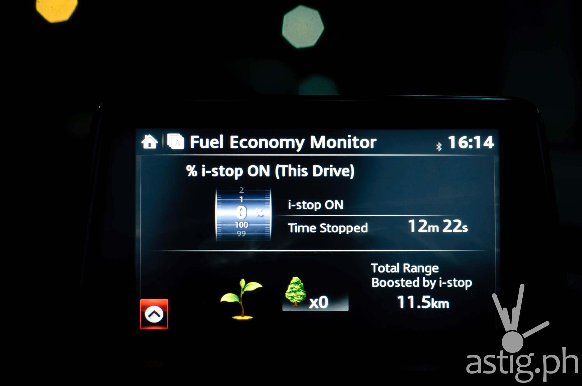 We really got to test the i-Stop system thanks to heavy traffic in Manila - Mazda3 2.0 Sedan 2017 Skyactiv-R