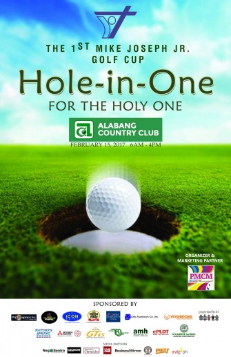 Mike Joseph Jr. Golf Cup: Hole-in-One for The Holy One, Feb 15 @ Alabang Country Club [event]