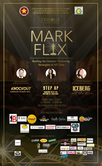 MARKFLIX: Reeling The Greatest Strategies of All Time, Feb 2 @ PUP Bulwagang Balagtas [event]