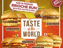 Taste the World with Minute Burger