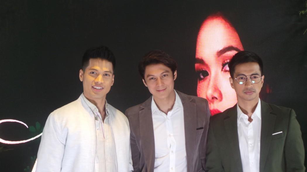 Vin Abrenica, Joseph Marco and RK Bagatsing