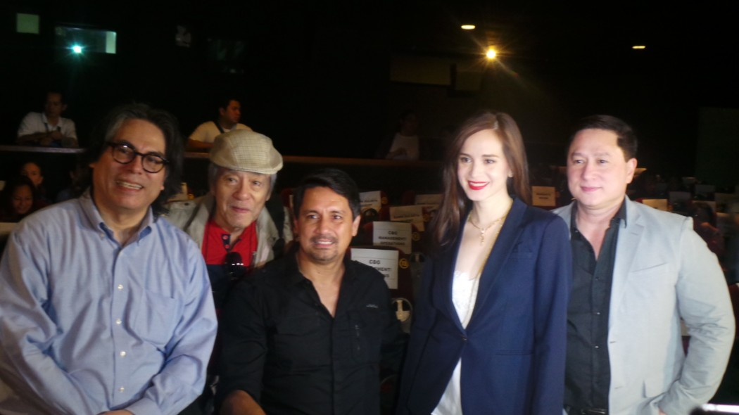 Direk Carlos Siguion-Reyna, Romeo Vitug, Richard and Lucy Gomez, Eric Quizon