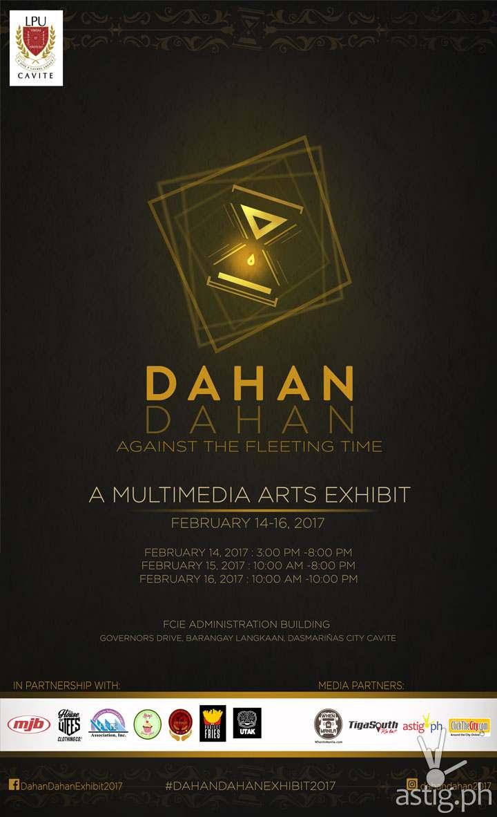 Dahan-Dahan Against the Fleeting Time event poster