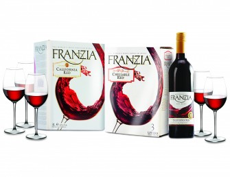 Raise a Glass to Romance with Franzia