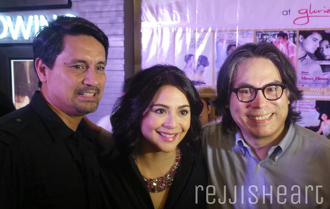 Richard Gomez and Dawn Zulueta with Direk Carlos Siguion-Reyna