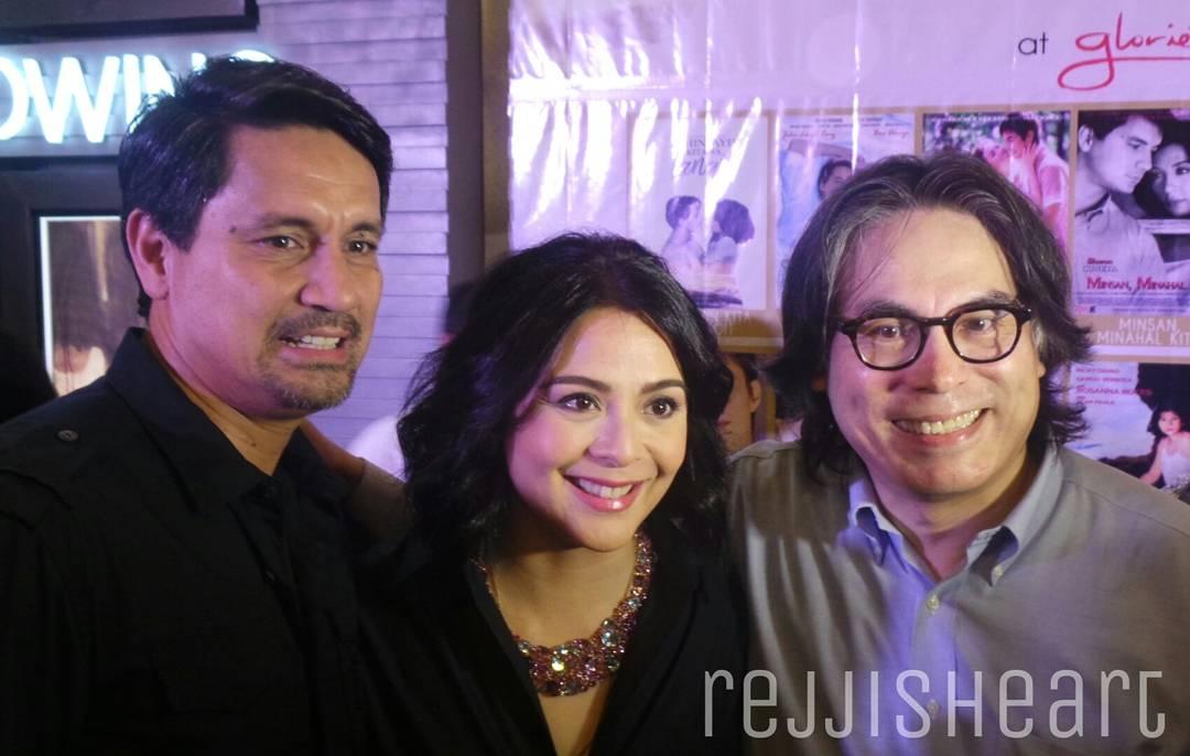 Richard Gomez and Dawn Zulueta with Direk Carlos Siguion-Reyna
