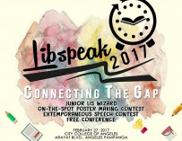 LibSpeak 2017: Connecting the Gap Feb 27 @ CCA, Pampanga [event]